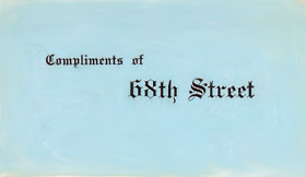 68th Street gang card