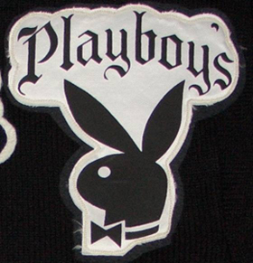 Playboys sweater patch