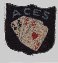 Aces Patch from the 1970's