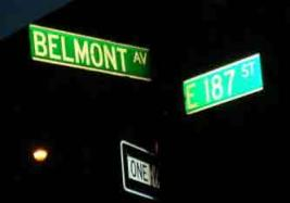 Belmont Avenue and 187th Street The Corner Dion and the Belmonts Started Doo-wop on