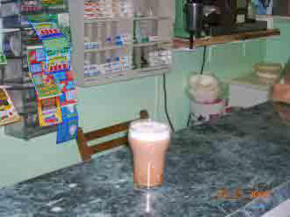 The East 187th Street and Belmont Egg Cream