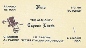 Capone Lords and Insane Pimps