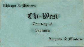 Augusta and Western Card