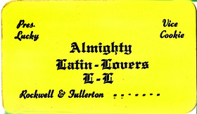 Latin Lovers card