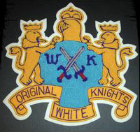 White Knights Patch 1970s